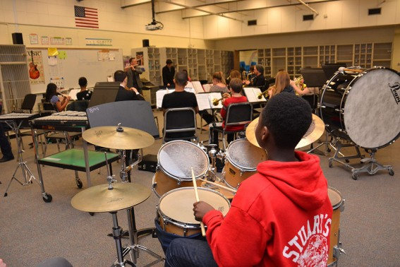Columbus Youth Jazz Lab in Schools